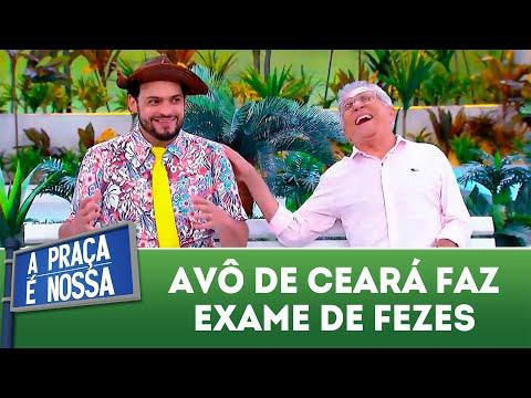 Avô de Ceará faz exame de fezes | A Praça É Nossa (15/11/18)