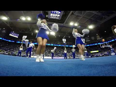 The University of Kentucky Cheerleaders performing their 2017 Nationals Routine. #GoPro