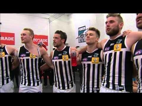 Port Adelaide team song - EF v Richmond, 2014