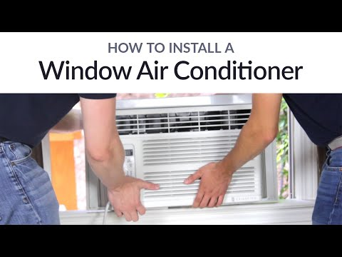 How to Install a Window Air Conditioner | Sylvane