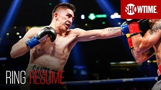 Take a look into the boxing career of WBA Featherweight Champion Leo Santa Cruz, who is known for aggression and high volume output in the ring.