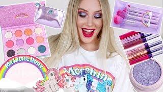 MY LITTLE PONY x Colourpop REVIEW & TUTORIAL   Lauren Curtis
