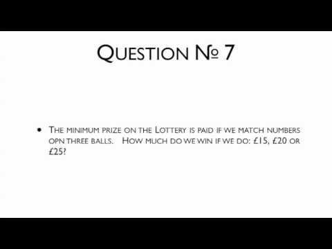 19th November 2014 Teaser The National Lottery