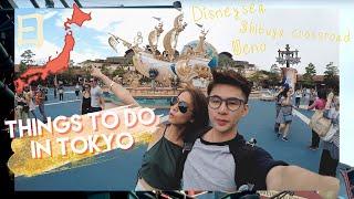 TOKYO, JAPAN TRAVEL VLOG Part 1   Disneysea, Asakusa, Shibuya CrossRoad