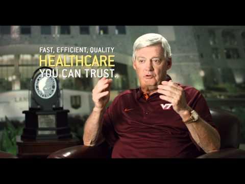 Virginia Tech Football Coach Frank Beamer Talks About Healthcare You Can Trust