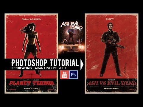 Recreating a Poster (Ash vs Evil Dead) Photoshop