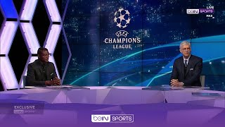 Desailly & Wenger's reaction to 1-1 Real-Chelsea draw   beIN Exclusive with Arsene Wenger