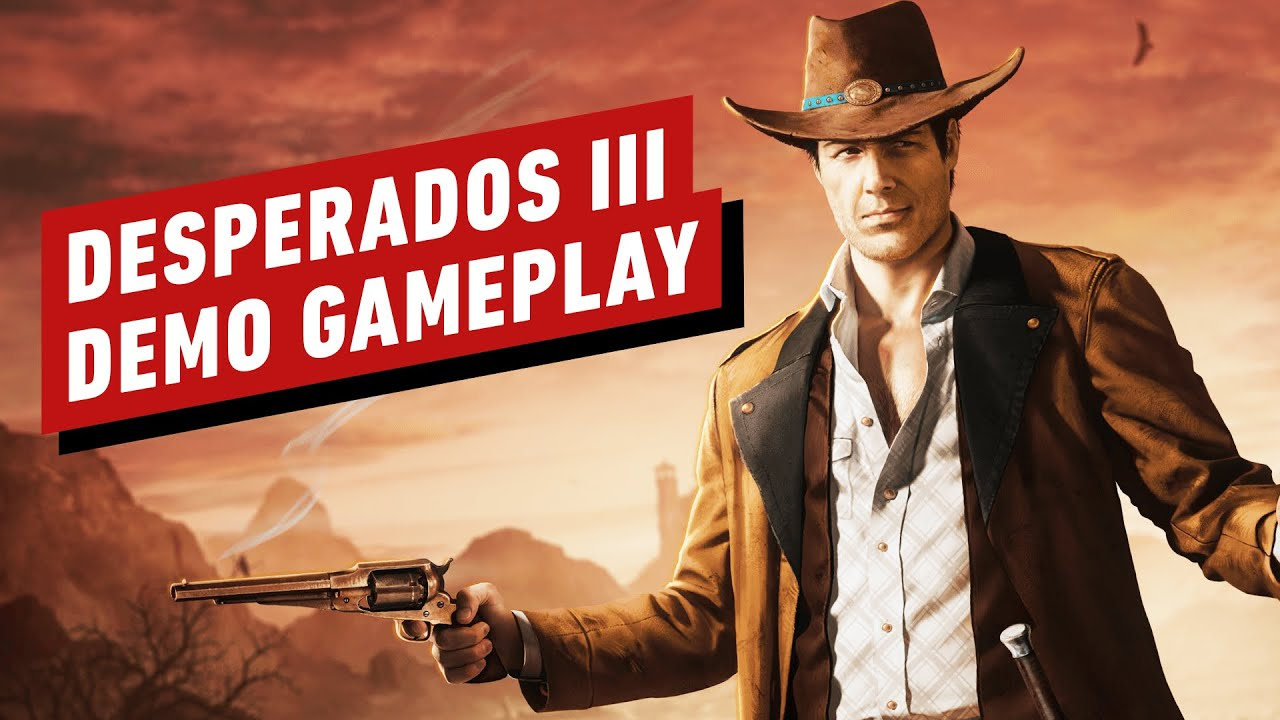 The First 10 Minutes Of Desperados 3 Gameplay Youtube