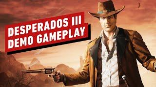 Desperados 3: Demo Gameplay