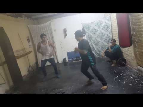 Pelea de Kung fu
