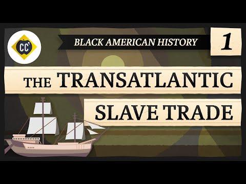The Trans-Atlantic Slave Trade: Crash Course Black American History #1
