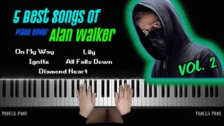 Download BEST SONGS OF ALAN WALKER VOL. 2 | Piano Cover by Pianella Piano