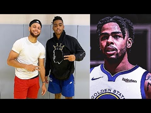 Stephen Curry Makes D'Angelo Russell Leave Warriors After Snitch Attempt (Parody)