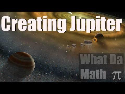 Universe Sandbox 2 - Creating Jupiter - How Gas Giants Are Made