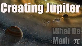 Universe Sandbox 2 - Creating Jupiter - How Gas Giants Are Made