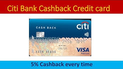 Citi Bank Cashback Credit Card Review fee