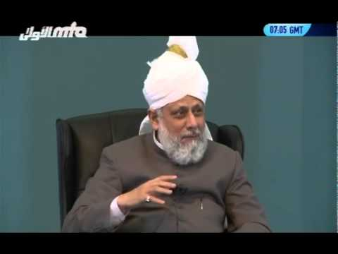 Urdu/English: Class with Students in Canada on 13th July 2012 - Islam Ahmadiyya