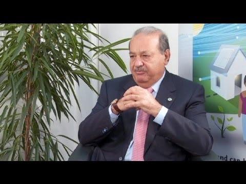 """euronews interview - Carlos Slim Helú : """"Le meilleur investissement que vous puissez faire est de créer des emplois."""""""