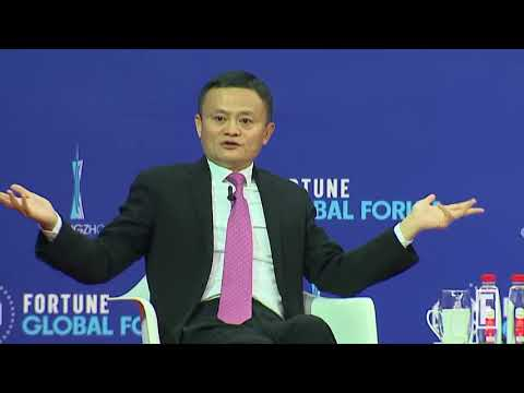 Alibaba's Jack Ma on the Company's New Frontiers