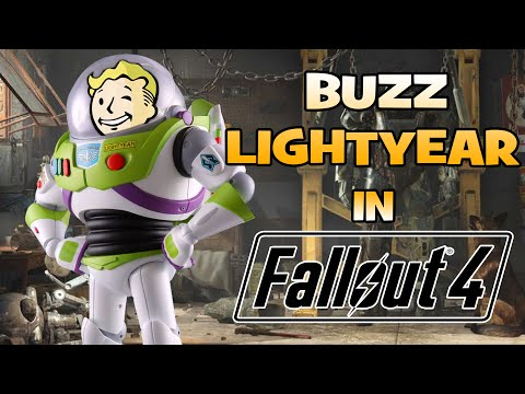 在《Fallout 4》遇上了巴斯光年
