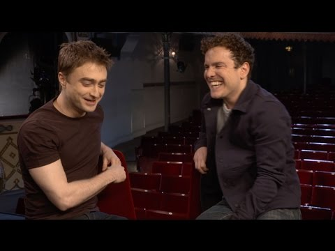 ROSENCRANTZ & GUILDENSTERN   Questions Game With Daniel Radcliffe And Joshua McGuire