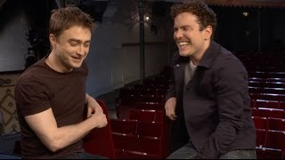 ROSENCRANTZ & GUILDENSTERN | Questions Game with Daniel Radcliffe and Joshua McGuire