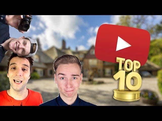 TOP 10 GROOTSTE YOUTUBERS VAN NEDERLAND!!