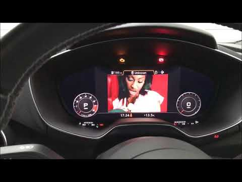 Audi TT - Front and Reverse Camera for Virtual Cockpit Systems