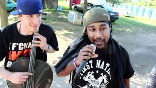 Hip Hop Kemp 2011 Part Nine - Babylon Warchild Interview & Freestyle