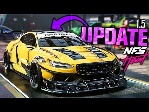 Need for Speed HEAT UPDATE 1.5! - 1400HP Polestar 1 Hero Car UNLOCKED!
