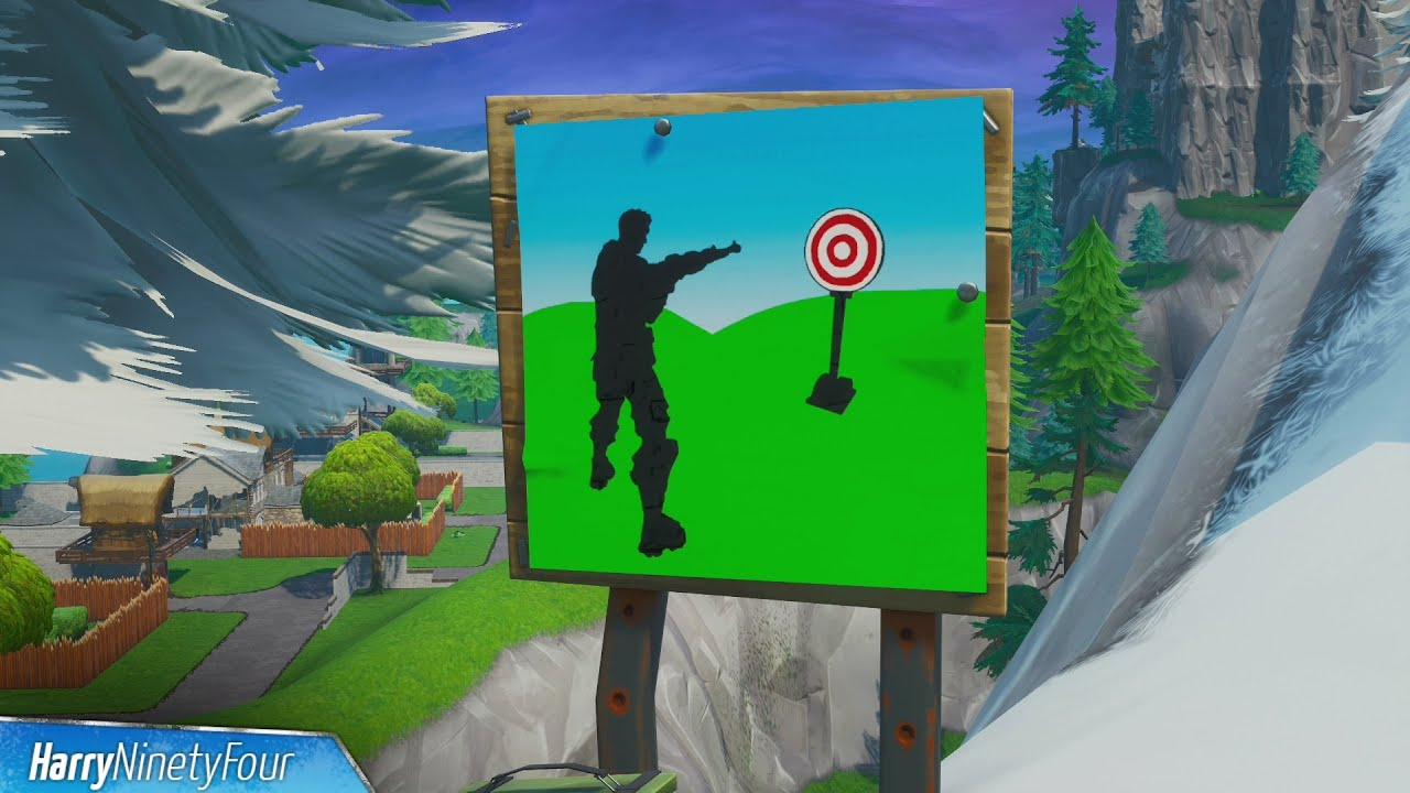 Hit Easy Firing Range Target Location Guide - Fortnite ...