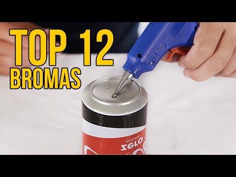 TOP 12 BROMAS MUY PESADAS para fastidiar a tus amigos (RECOPILACIÓN)