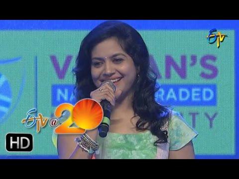 Sunitha Performance - E Velalo Neevu Song in Kadapa ETV @ 20 Celebrations