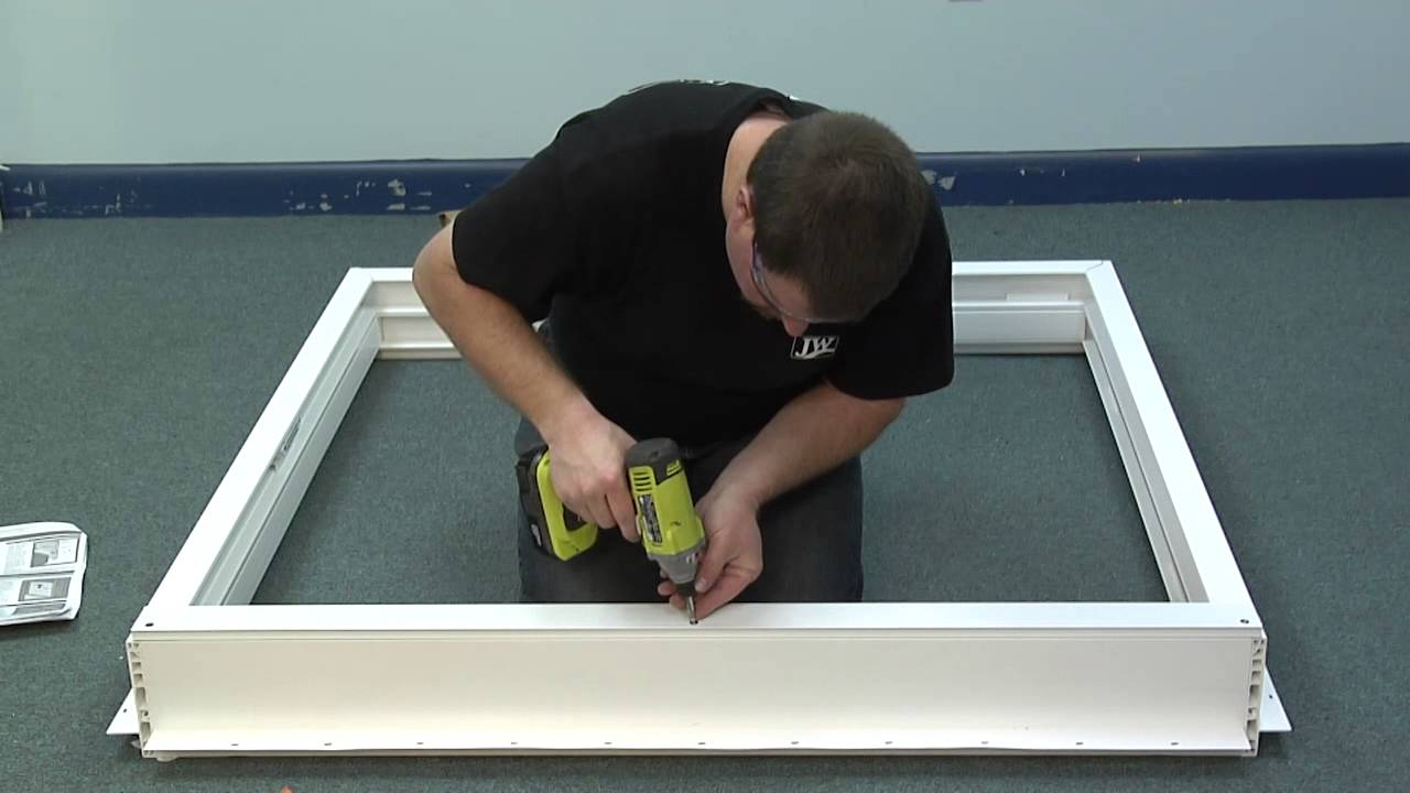 How To Install The Sill Riser On A Premium Atlantic Vinyl Patio Door