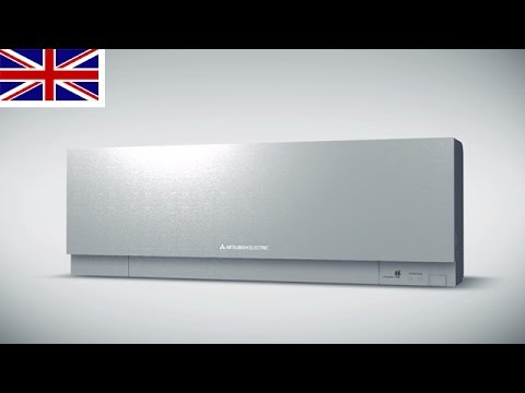 Wall Mounted Air Conditioner PREMIUM DESIGN MSZ EF From Mitsubishi Electric    YouTube