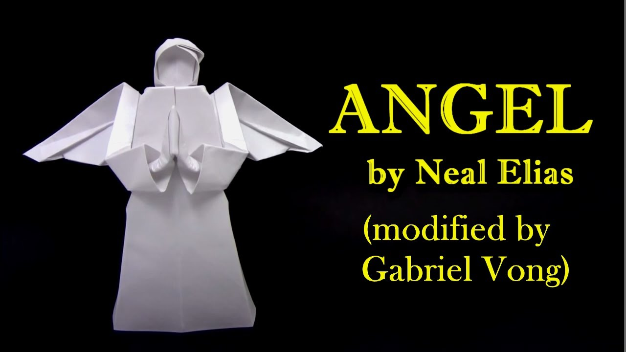 Origami Angel Step By Diagram 2005 F150 Ac Wiring Tm Schwabenschamanen De Neal Elias Modified Gabriel Vong Yakomoga Rh Youtube Com Instructions Pdf