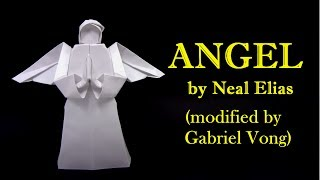 Origami ANGEL by Neal Elias  - Yakomoga Origami tutorial