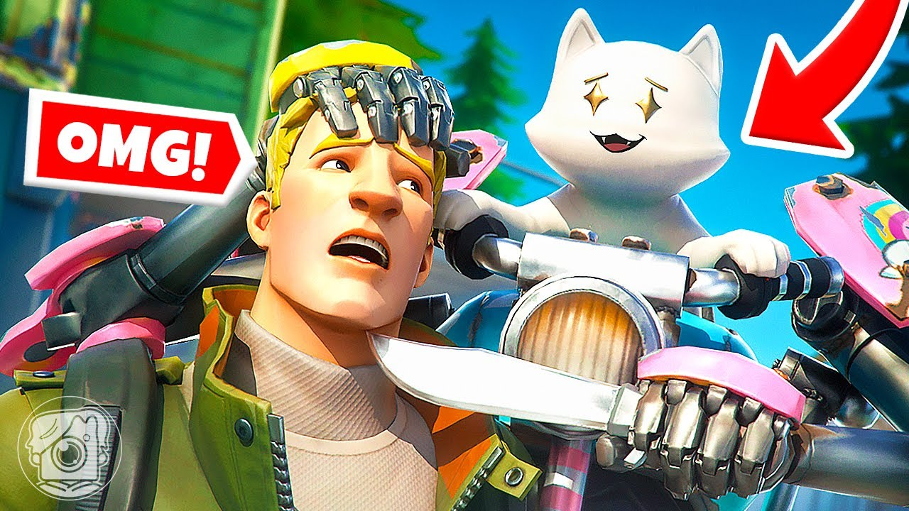 DO WHAT KIT'S SISTER SAYS... or DIE! (Fortnite Simon Says)