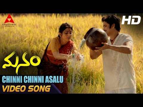 Chinni Chinni Asalu Video Song || Manam Video Songs || Nagarjuna, Shreya