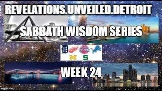 Sabbath WISDOM Series Week-24. 1 Kings, Proverbs, Ecclesiasticus, & Psalms.