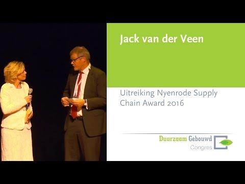 Duurzaam Gebouwd Congres 2016 – Uitreiking Nyenrode Supply Chain Award