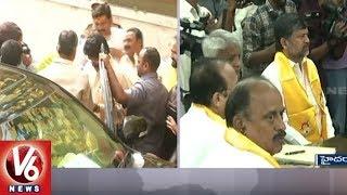 AP CM Chandrababu Meets TTDP Leaders Over Telangana Assembly Electi...