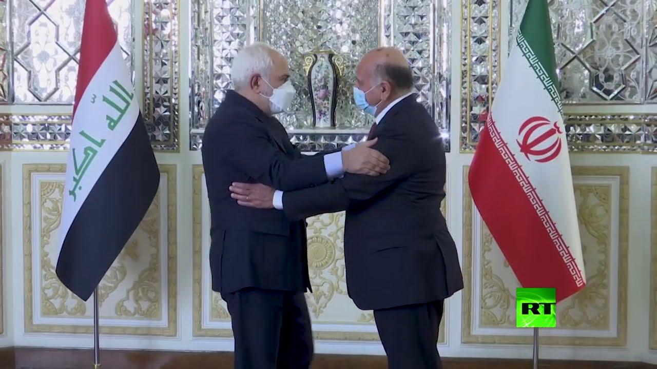 وزير خارجية إيران محمد جواد ظريف يستقبل نظيره العراقي فؤاد حسين  - نشر قبل 3 ساعة