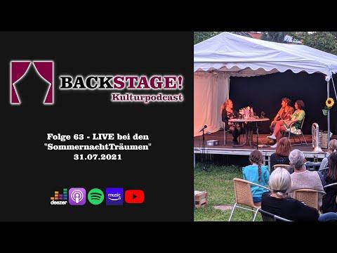 """Folge 63 - LIVE bei den """"SommernachtTräumen"""""""