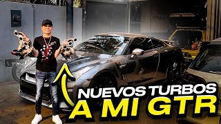 NUEVOS TURBOS PARA MI NISSAN GTR.. | ManuelRivera11