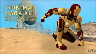 GTA San Andreas Android- Iron Man Mod (With Powers)