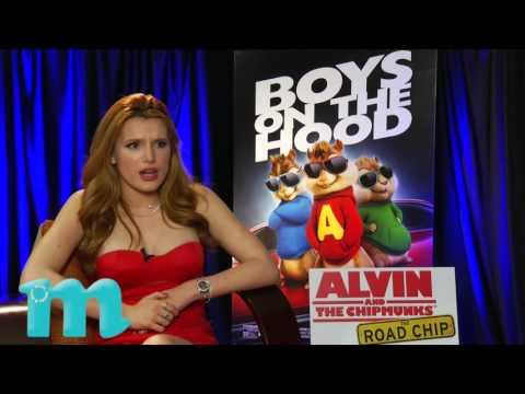 Bella Thorne Talks 'Alvin and the Chipmunks'