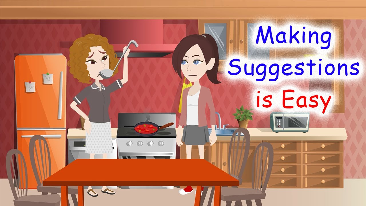 Download Making suggestions is easy | Learn English Conversation