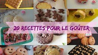 ❥ 20 recettes pour le goûter des enfants # Le Pays des Gourmandises