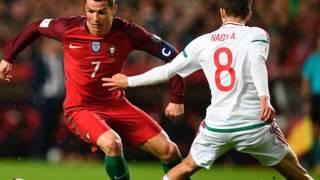 Portugal 3 - 0 Hungria | Qualificação Mundial 2018 | Desporto Na Hora (Relato)
